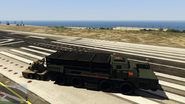 Chernobog remorque anti-aérienne attachée GTA Online