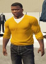 Ponsonbys (V - Żółty sweter)
