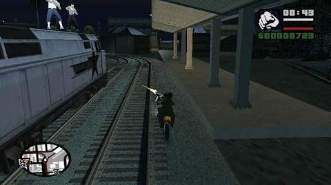 GTA San Andreas- Do Lado Errado Dos Trilhos