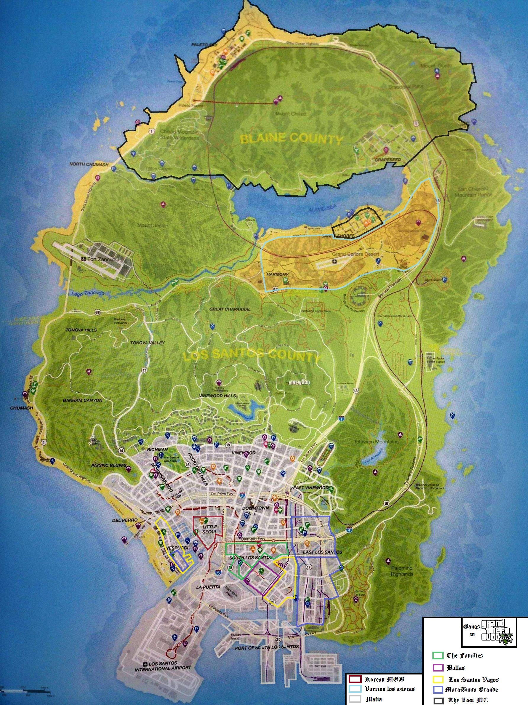 Gangs Dans Gta V Grand Theft Wiki Fandom
