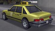 Taxi vue-arrière GTAIII