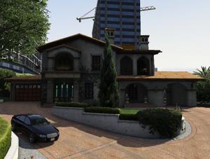 Michael's home fasad