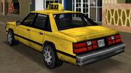 Taxi vue-arrière GTAVC