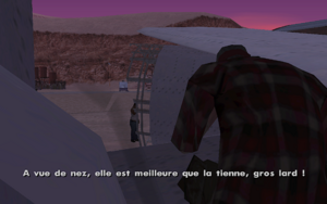 Black Project GTA San Andreas (graisse)