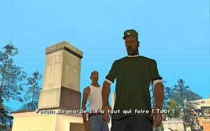 Sweet & Kendl GTA San Andreas (colère)