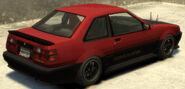 Futo (variante GT) GTA IV (vue arrière)