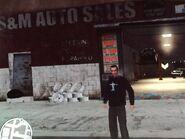 Niko az S&M Auto Salesnél