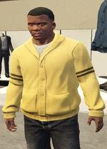 Ponsonbys (V - Żółty cardigan)