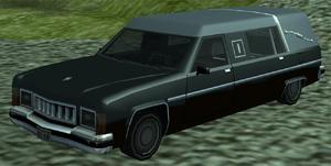 Romero GTA San Andreas (vue avant)