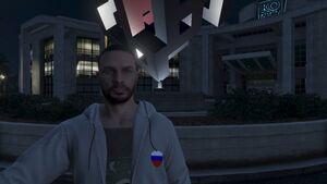 Emblem of Russian gang