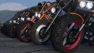 Motos de motos boulots bobos GTAO