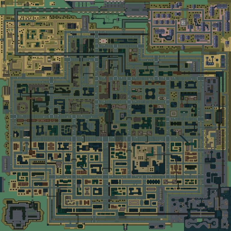 Residential (mapa - 2)
