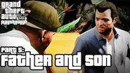 Grand Theft Auto V (PS3) - Pai Filho Legendado em Português