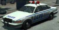 Police Cruiser (Stanier) GTA IV (vue avant)