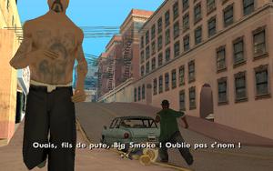 Running Dog GTA San Andreas (attaque)