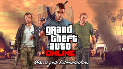 Artwork dlc Extermination GTAV