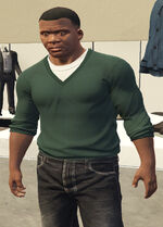Ponsonbys (V - Zielony sweter)