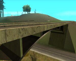 11. Мост над дорогой. Округ Флинт