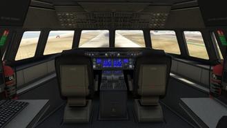 Interior Cargo Plane
