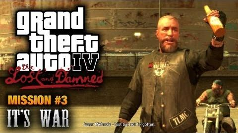 GTA The Lost and Damned - Mission 3 - It's War (1080p)