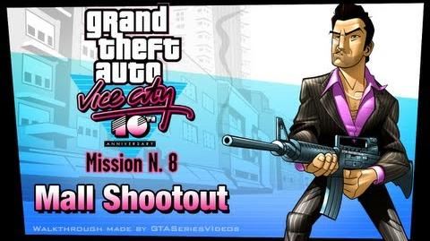 GTA Vice City - iPad Walkthrough - Mission 8 - Mall Shootout