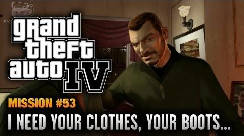 GTA 4 - Mission 53 - I Need Your Clothes, Your Boots, and Your Motorcycle (1080p)