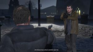 Grand Theft Auto V Tête d'enterrement (explication)