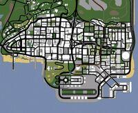 Los Santos (SA - mapa)