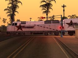 Railroad Crossing Closed Los Santos (GTA SA)