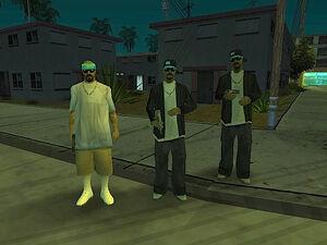 Varrios Los Aztecas GTA San Andreas (1 & 2)