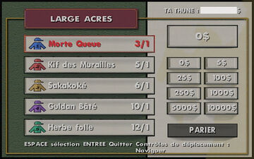 Inside Track (chevaux) GTA San Andreas