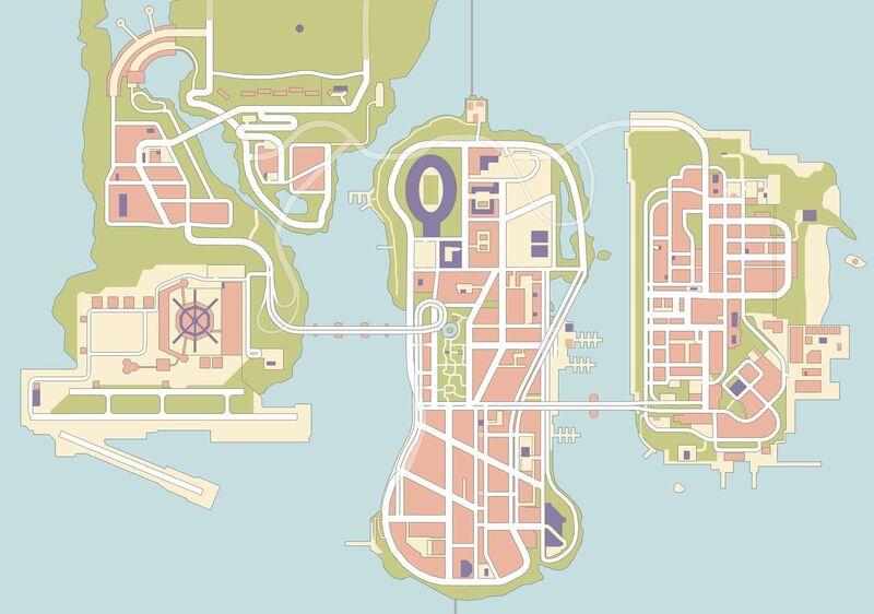Liberty City (III - mapa)