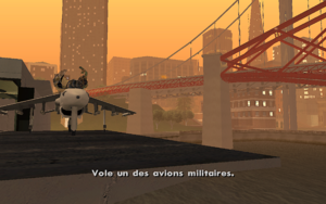 Vertical Bird GTA San Andreas (consigne)