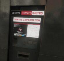 Automat biletowy (V)