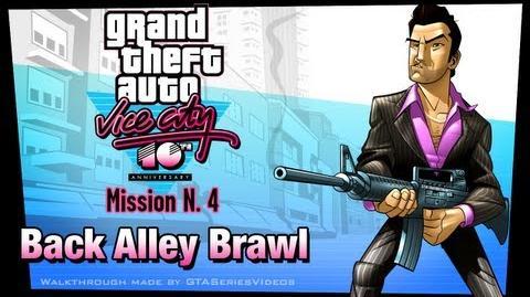 GTA Vice City - iPad Walkthrough - Mission 4 - Back Alley Brawl