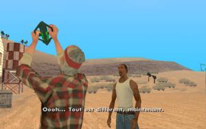 Green Goo GTA San Andreas (victoire)