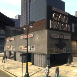 Station de lavage GTA IV (Hell Gate)