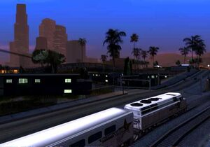 Gta sa brown streak train