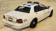 Sheriff Cruiser vue arrière GTAV