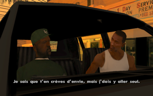 End of the Line GTA San Andreas (faveur)
