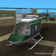 VCPD hélicoptère