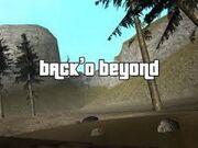 Back o beyond