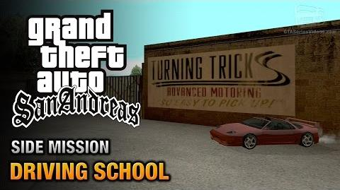 GTA San Andreas - Driving School