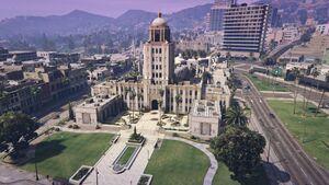 Rockford Hills City Hall GTAVe Overview