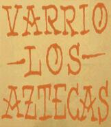 Varrio Los Aztecas Tag-1-