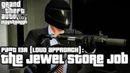 Grand Theft Auto V (PS3) - O Golpe à Joalheria (Abordagem Barulhenta) - Legendado em Português