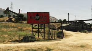 Murrieta Oil Field GTA V (panneau)
