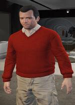 Ponsonbys (V - Czerwony sweter)