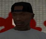 Victim (SA - Czarna czapka (tył))