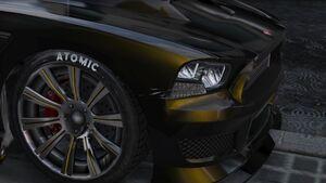 Atomic Wheel GTAV
